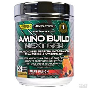 Muscletech, Performance Series, Amino Build Next Gen, 279 гр, 30 порций