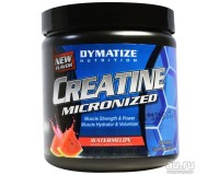 Dymatize Nutrition, Creatine Micronized Blue Raspberry(Креатин), 300 гр,