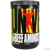 Universal Nutrition, 100% Beef Aminos, 200 табл. 66 порций