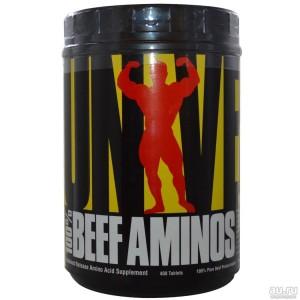 Universal Nutrition, 100% Beef Aminos, 400 табл. 133 порции