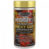 Muscletech Performance Series, Hydroxycut Hardcore Next Gen Non-Stimulant,(жиросжигатель) 150 капсул