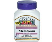 21st Century Melatonin(Мелатонин) 3 мг, 200 таблеток