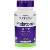 Natrol Melatonin (Мелатонин) Time Release 5 мг с витамином B6, 100 таблеток