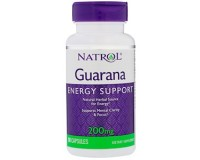 Natrol, Guarana Energy support(Гуарана), 90 табл