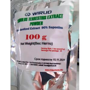 Wirud, Tribulus Terrestris Extract Powder(Трибулус), 100 гр.