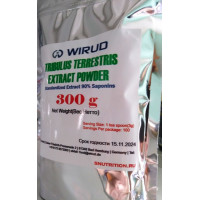 Wirud, Tribulus Terrestris Extract Powder(Трибулус), 300 гр.