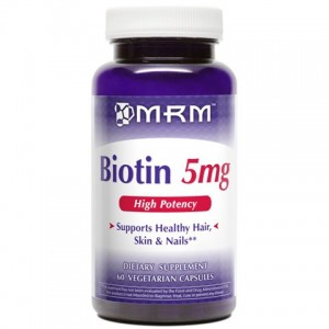MRM - Biotin(Биотин) 5000 mcg High Potency 60 капс.