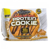 Muscletech, Protein Cookie, Протеиновое печенье, арахисовое масло, 92 гр