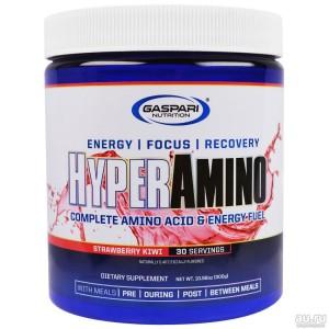 Gaspari Nutrition, HyperAmino, 300 гр, 30 порций